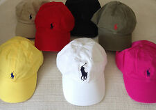 NEW RALPH LAUREN POLO GOLF CAP BASEBALL BUCKET HATS ASSORTED COLOURS