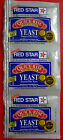 Red Star Quick Rise Instant Dry Yeast 3 Strip Packets Bread Baking BUY 4 GET 1