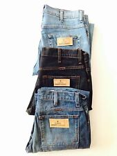 NEW MENS TEXAS STRETCH REGULAR FIT ZIP FLY 100% COTTON WRANGLER JEANS