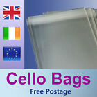 50 C4 / A4 Cello Bags for Greeting Cards / Clear / Cellophane Peel & Seal Bags