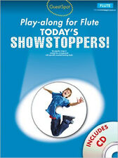 Guest Spot Playalong For Flute: Today's Showstoppers - Sheet Music, CD, , New Bo