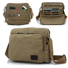 Men women canvas handbag large capacity shoulder bag leisure Messenger bag