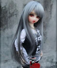 "9-10"" 1/3 hair SD BJD Super Dollfie Long Wig silver+gray AOD DZ DOD DK DL Luts"