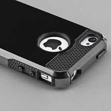 Hybrid Shockproof Hard Rugged Heavy Duty Cover Case For Apple iPhone 5 5s TPU