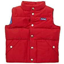 PENFIELD KIDS UNISEX OUTBACK DOWN INSUALTED VEST DEEP RED