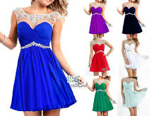 New Short/Mini Prom Party Evening dress Homecoming Dresses bridesmaid Graduation