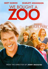 We Bought A Zoo DVD Widescreen New Sealed