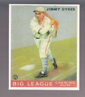 JIMMY DYKES 1983 REPRINT OF 1933 GOUDEY CARD by RENATA GALASSO #6