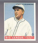 FRED FITZSIMMONS 1983 REPRINT OF 1933 GOUDEY CARD by RENATA GALASSO #130