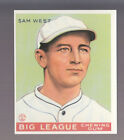 SAM WEST 1983 REPRINT OF 1933 GOUDEY CARD by RENATA GALASSO #166