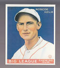ROSCOE HOLM 1983 REPRINT OF 1933 GOUDEY CARD by RENATA GALASSO #173