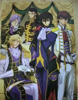 Code Geass Lelouch Lamperouge Anime Poster #8