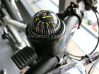 New Black MTB Bicycle Bike Cycling Handlebar Safety Alarm Ring Bell Compass Horn