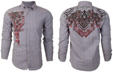 Archaic AFFLICTION Mens BUTTON DOWN Shirt HEARTH Express Roar BKE UFC S-XXL $78