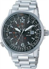 Citizen Promaster Eco-Drive Nighthawk Euro Pilots Watch BJ7000-52E BJ7010-59E