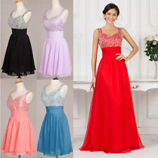 CHEAP! Bridesmaid Long Formal Evening Ball Gown Cocktail Prom Party Maxi Dresses