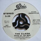"CLASH - Gates Of The West / Groovy Times - PROMO - Ex 7"" Single Epic AE7 1178"