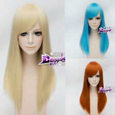 US Seller 21 Color 55cm Cosplay Halloween Party Wig Heat Resistant Anime Hair