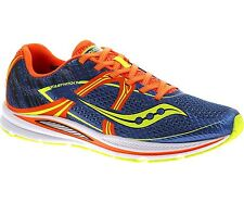 Mens Saucony Fastwitch 7 Blue/Orange Running Shoes Sneakers Size 7-14 S29016-1