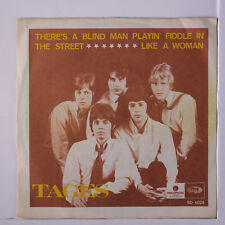 TAGES: There's A Blind Man Playin' Fiddle In The Street / Like A Woman 45 (Swed
