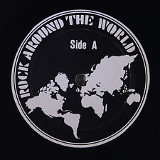 BABYS / CATE BROS.: Rock Around The World LP (promo-only, w/ cue sheet, air dat