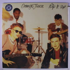 ORANGE JUICE: Rip It Up LP (UK, 180 gram reissue, w/ MP3 download) Punk/New Wav