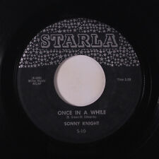 SONNY KNIGHT: Once In A While / School's Out 45 Blues & R&B