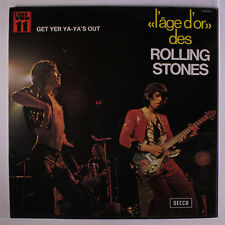 ROLLING STONES: Get Your Ya-ya's Out (l'age D'or 11) LP (France, laminated gate
