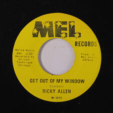RICKY ALLEN: Get Out Of My Window / Help Me Moma 45 Soul