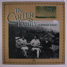 CARTER FAMILY: On Border Radio LP (shrink, insert, small toc, very small tear a