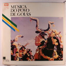 VARIOUS: Musica Do Povo De Goias LP (Brazil, '79, 2 LPs, gatefold cover, sm tag