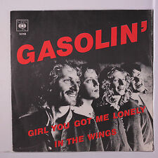 GASOLIN': Girl You Got Me Lonely / In The Wings 45 (Netherlands, M- textured co