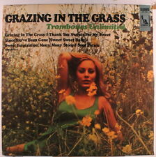 TROMBONES UNLIMITED: Grazing In The Grass LP (rubber stamp/discoloration obc) E