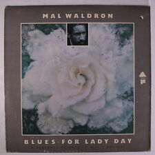 MAL WALDRON: Blues For Lady Day LP (punch hole, promo toc, promo lbl, some cw)
