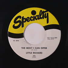 LITTLE RICHARD: The Most I Can Offer / Directly From My Heart 45 (minor mark on
