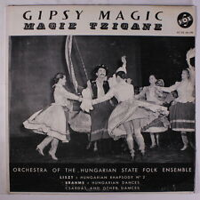 ORCHESTRA OF THE HUNGARIAN STATE FOLK EN: Gipsy Magic LP (small tag on cover, s
