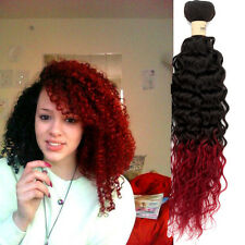 """New!Cheap Ombre brazilian Human Hair Extension 10""""-30"""" Curly Wave Human Hair Hot"""