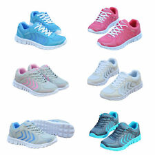 LADIES RUNNING TRAINERS WOMENS SHOCK ABSORBING SPORTS WALKING FASHION GYM SHOES