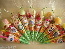 Themed Party Filled Sweet Cones Bags Birthday Wedding Favours Boys Girls.