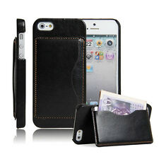 For Apple iPhone5 5s 6 6Plus With Stand New Wallet Flip Leather Phone Case Cover