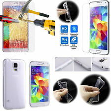 EXPLOSION PROOF GORILLA TEMPERED GLASS SCREEN PROTECTOR + CASE FOR MOBILE PHONES