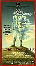 Lawrence of Arabia (VHS, 2 Tape Set, 1992, Restored Version) Brand New Sealed