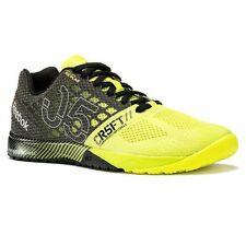 New in Box Men's REEBOK CROSSFIT NANO 5.0 Solar Yellow Black V65892 Shoes Nano 5