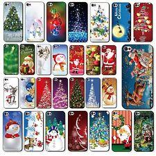 Lovely Christmas Pattern Hard Back Phone Case Cover Skin For iPhone 4 4S 5 5S 5C