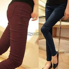 Hot Damen Hüfthose Stretch Hose Jeans Skinny Leggings Leggins Treggings Jeggings