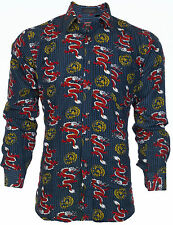 DESIGNER Men BUTTON DOWN Shirt COUTURE Express Roar Xtreme BKE UFC S-XXL $68 (8)