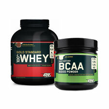 Optimum Nutrition 100% Whey Gold + BCAA Powder