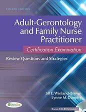 Adult-Gerontology and Family Nurse Practitioner Certification Examination:...