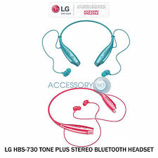 Genuine LG Electronics Tone+ HBS-730 Earbuds Wireless Bluetooth Stereo Headset