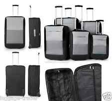 Extra Strong Medium Large 2 Wheel Small Cabin Trolley Suit Case Travel Luggage